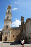 Cathedral in Lecce Stock Photos