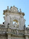 Cathedral of Lecce in Italy Royalty Free Stock Photo