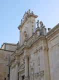 Cathedral of Lecce in Italy Royalty Free Stock Photography