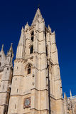 Cathedral of Leon Royalty Free Stock Photography