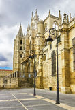 Cathedral of Leon Stock Image