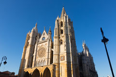 Cathedral of Leon Royalty Free Stock Image