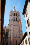 Cathedral of Leon in Castilla Stock Photos