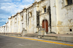 The Cathedral of Leon in Nicaragua stock photos