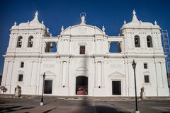 Cathedral of Leon in Nicaragua Royalty Free Stock Images