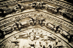 Cathedral of Leon Stock Images
