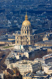 Cathedral Les Invalides in Paris Stock Image