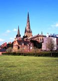 Cathedral, Lichfield, England. Royalty Free Stock Photos