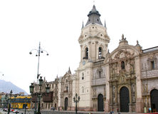 Cathedral of Lima, Peru Royalty Free Stock Image