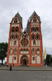 Cathedral of Limburg Stock Photography