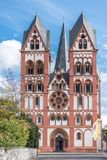 Cathedral in Limburg, Germany under blue sky Royalty Free Stock Photos
