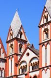Cathedral of Limburg an der Lahn Stock Images