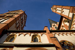 Cathedral in Limburg, Germany Royalty Free Stock Photography