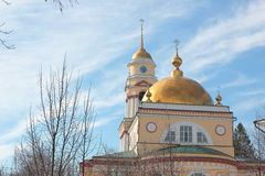 Cathedral in Lipetsk Royalty Free Stock Photos