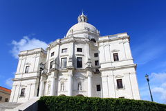 Cathedral in Lisbon. Cathedral in Alfama district, Lisbon, Portugal royalty free stock photos