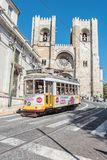 Cathedral of Lisbon in Lisbon, Portugal Stock Photography