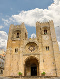 Cathedral of Lisbon, Portugal Stock Photography