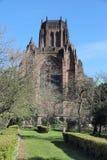Cathedral of Liverpool. Liverpool Cathedral of the Church of England. Gothic Revival landmark Stock Image