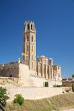 Cathedral of Lleida city Stock Photos