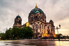 Cathedral located on the Museum Island in Berlin, Germany Royalty Free Stock Photo