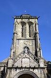 Cathedral of Locronan. France Royalty Free Stock Photo