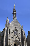 Cathedral of Locronan. France Royalty Free Stock Images