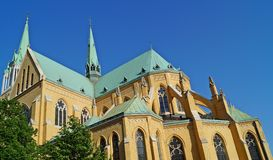Cathedral, Lodz, Poland Stock Image