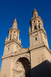 Cathedral of Logroño Stock Photo