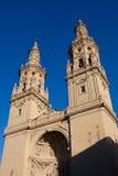 Cathedral of Logroño. La Rioja, Spain Stock Photo