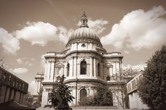 Cathedral in London Royalty Free Stock Photos