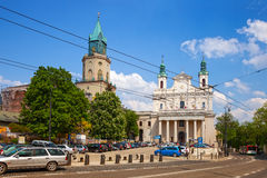 Cathedral in Lublin Royalty Free Stock Images