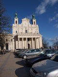 Cathedral, Lublin, Poland Royalty Free Stock Photography
