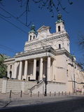 Cathedral, Lublin, Poland Stock Images