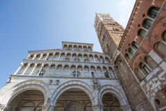 The cathedral of Lucca Royalty Free Stock Photography