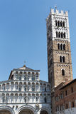 Cathedral of Lucca Stock Photography
