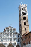Cathedral of Lucca Stock Photos
