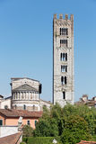 Cathedral of Lucca Stock Images