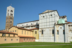 The Cathedral from Lucca, Italy. The St Martin Cathedral from Lucca, Italy Royalty Free Stock Photo