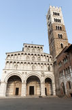 Cathedral of Lucca (Tuscany) Stock Photo