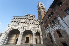 Cathedral of Lucca (Tuscany) Royalty Free Stock Photography