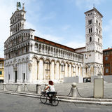 Cathedral of Lucca, Tuscany Stock Photo
