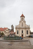 Cathedral of Ludwigsburg Stock Photos