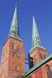 Cathedral of Luebeck Stock Photography