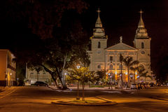 cathedral luis night sao se Стоковые Изображения RF
