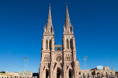 The cathedral of Lujan Royalty Free Stock Photos