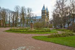 Cathedral in Lund Stock Photography