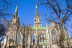 Cathedral of Lviv Royalty Free Stock Photography