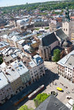 The Cathedral of Lviv Royalty Free Stock Images