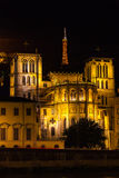 Cathedral in Lyon, France Royalty Free Stock Photos