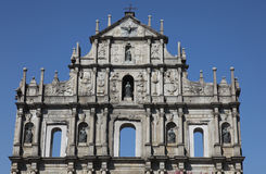 Cathedral Macau Stock Image